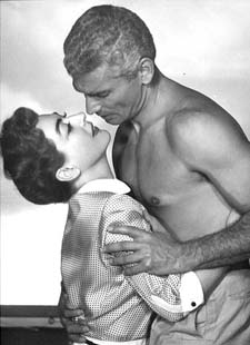Jeff Chandler & Joan Crawford -- Huba huba!