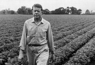 Jimmy Carter Peanut Field