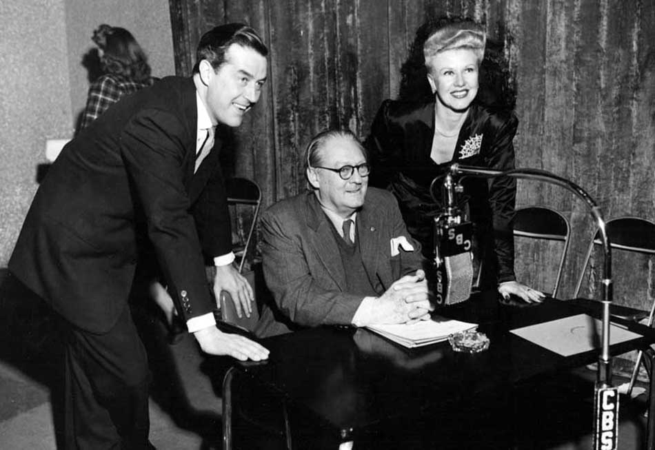 Jimmy Stewart, John Barrymore, and Ginger Rogers on Lux Radio