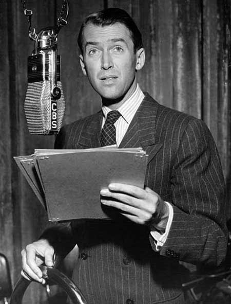 Jimmy Stewart on the Radio