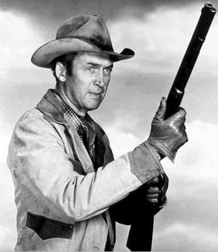 Jimmy Stewart Six Shooter & Rifle