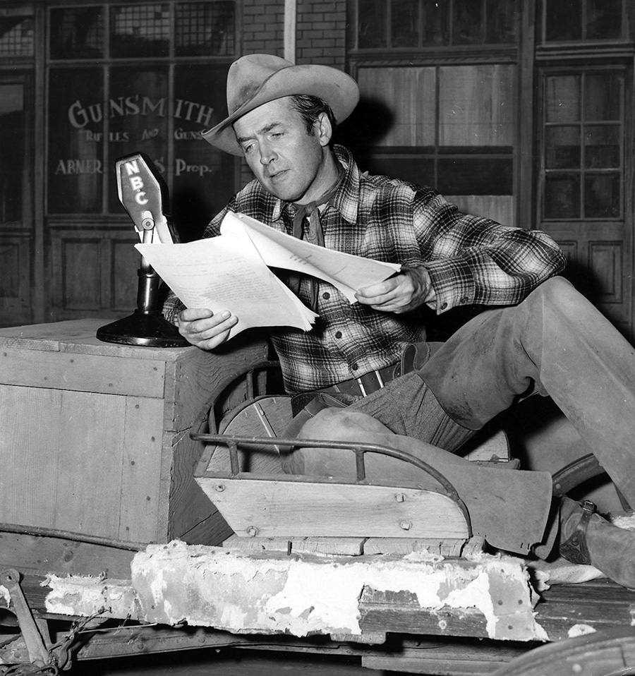 Jimmy Stewart in Six Shooter