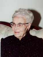 Joan Blaine, in later life
