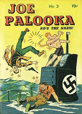 Joe Palooka Fights Nazis