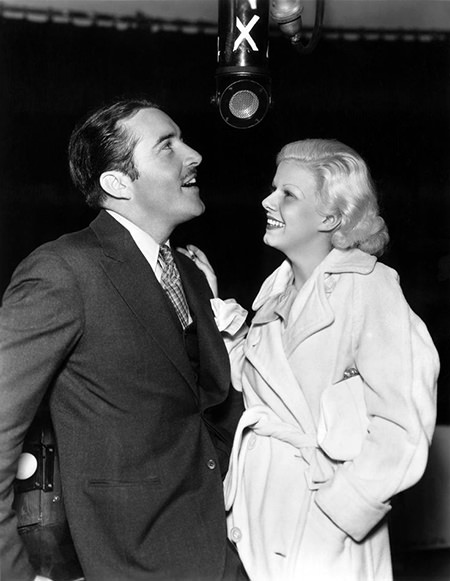 John Boles and Jean Harlowe on the Radio