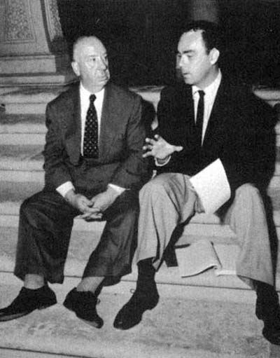 Alfred Hitchcock and John Michael Hayes