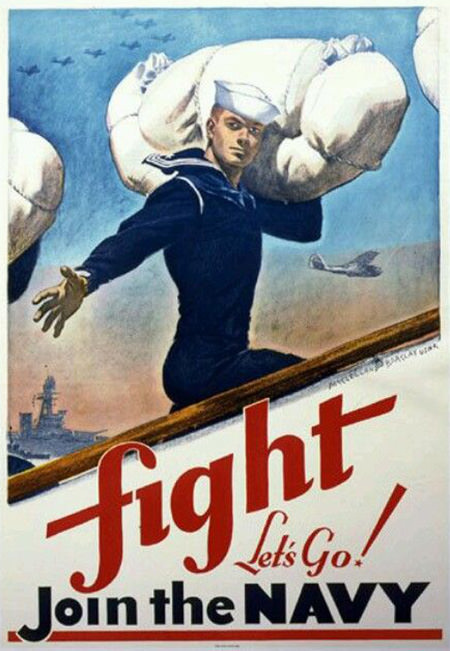 Join the Navy 1950