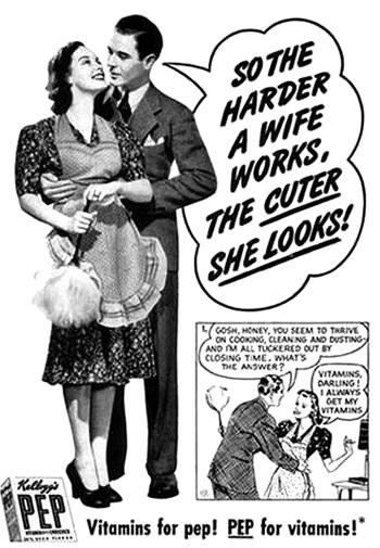 Kellogs Pep Advertisement