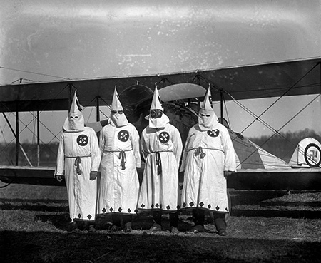 KKK Nazi Biplane