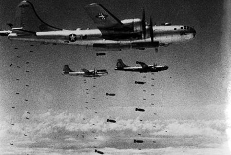 Bombing in Korea