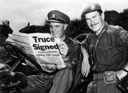 End of Korean War 1953