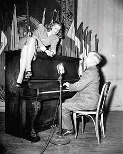 Lauren Bacall & Truman
