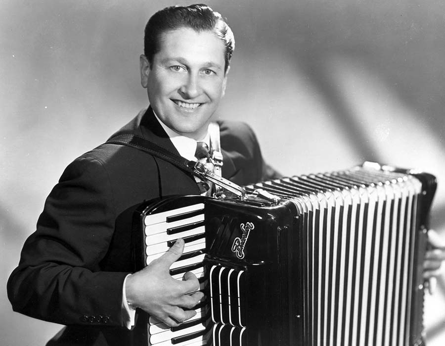 Lawrence Welk and accordian