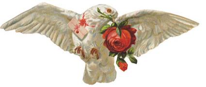 Letter Bird Valentine