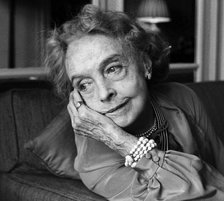 Lillian Gish in the 1980s
