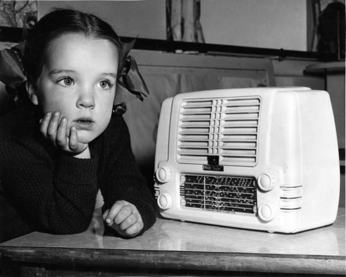 Kids Listening to Old Time Radio