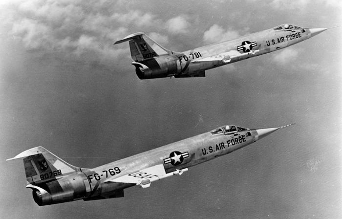 Airforce Jets 1958
