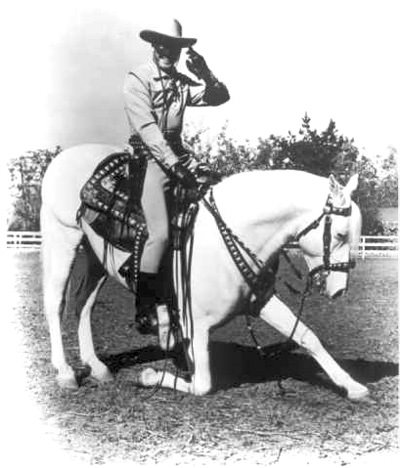Lone Ranger Silver Horse Bowing
