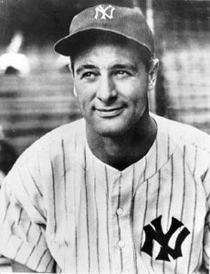 Yankee's Lou Gehrig