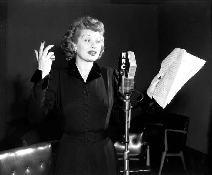 Lucille Ball on the Radio