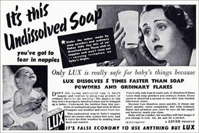 Lux Soap Ad