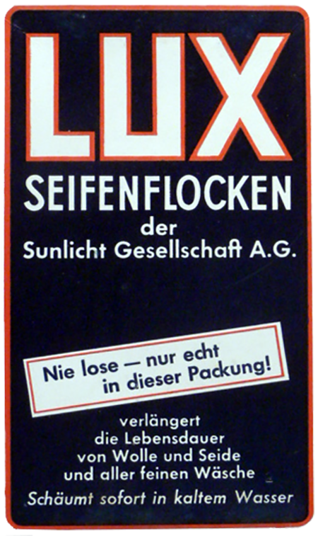 Lux Radio Soap WWII German