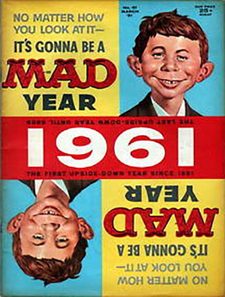 Mad Magazine 1961