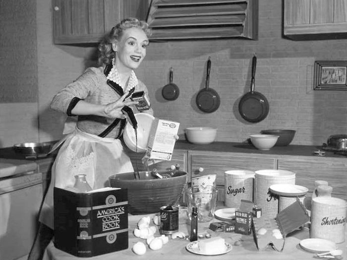 Marie Wilson Cooking