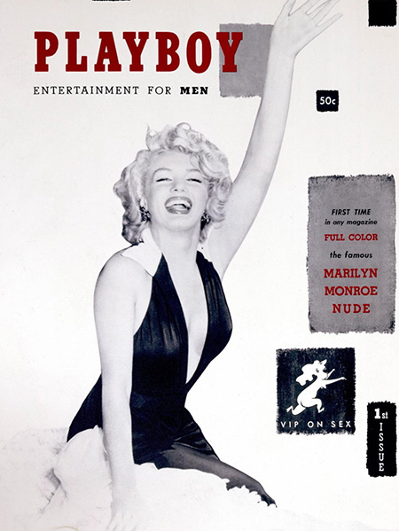 Marilyn Monroe on Playboy 1953