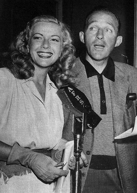 Martha Wilkerson and Bing Crosby