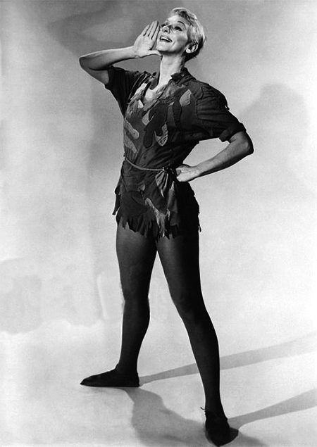 Mary Martin as Tinkerbell