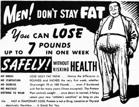 Men Don't be Fat