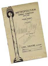 Metropolitan Opera Company Bill