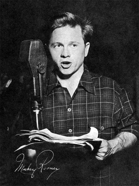 Mickey Rooney Radio