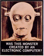 Monster Created by Electronic Computer