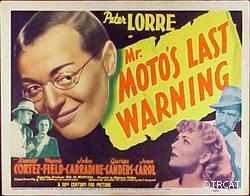 Mr Moto Lobby Poster 1938