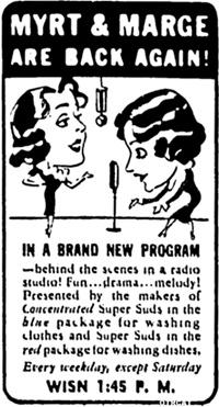 Myrt & Marge Ad