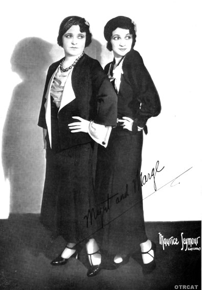 Myrtle Vail and Donna Demerel