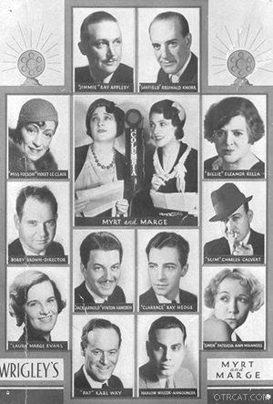 Myrt and Marge radio cast