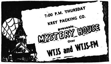 Mystery House Advertisement