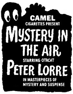 Mystery In the Air Advertisement