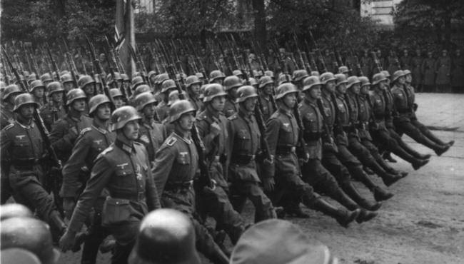 Nazi Invasion Warsaw