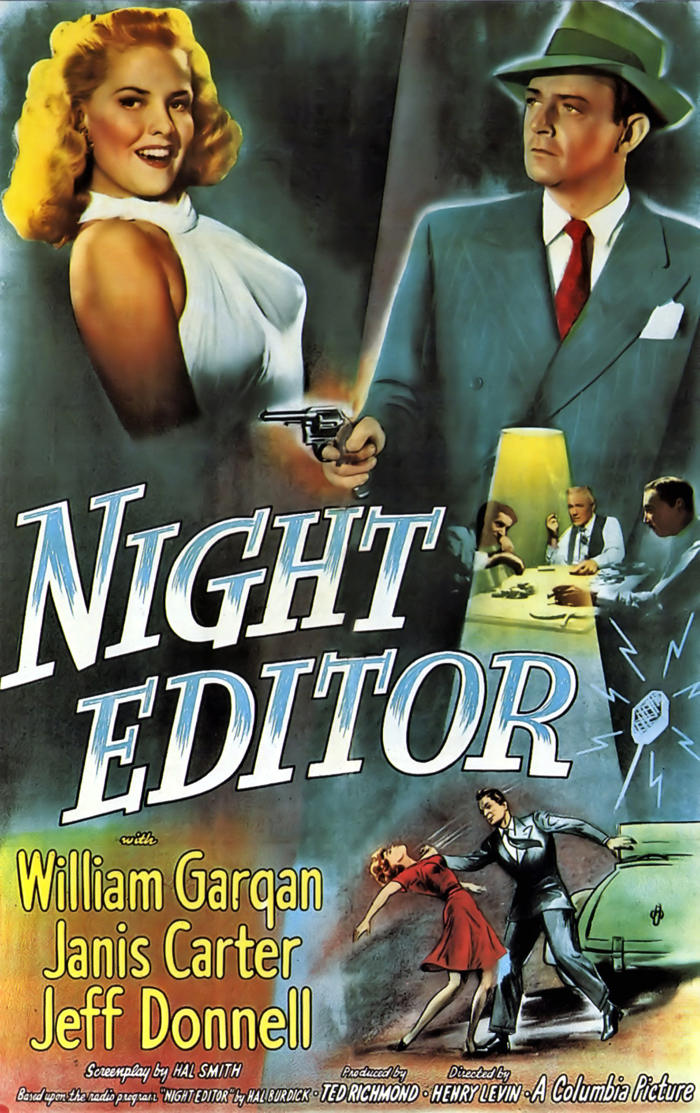 Night Editor Movie Poster