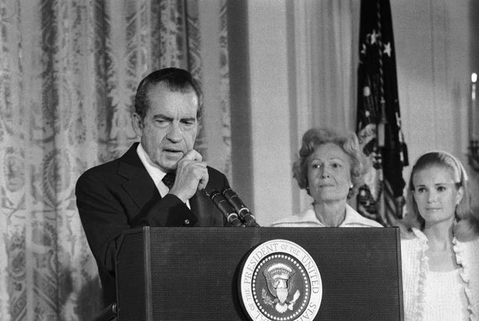 Nixon Resigning