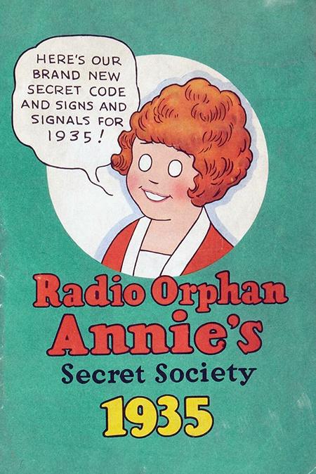 Orphan Annie Code Book