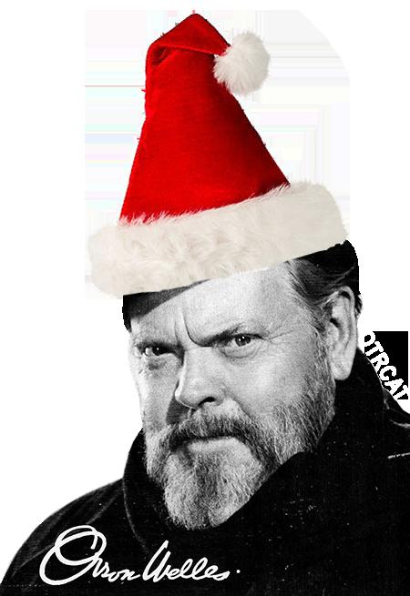 Orson Welles Santa Hat