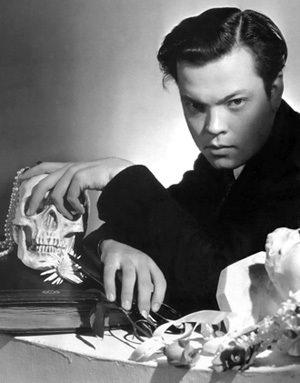 Orson Welles & Skull