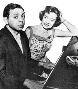 Oscar Levant and Wife, June