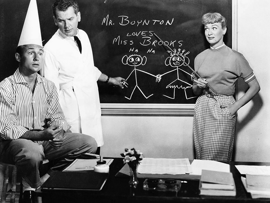 Our Miss Brooks Chalkboard