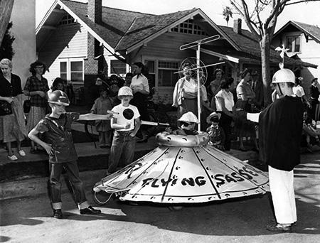 1950s Halloween Parade